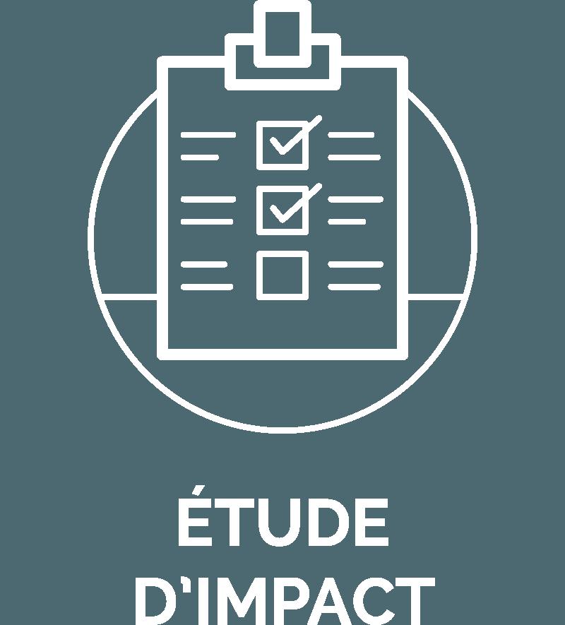 pictogramme nos offres etude impact